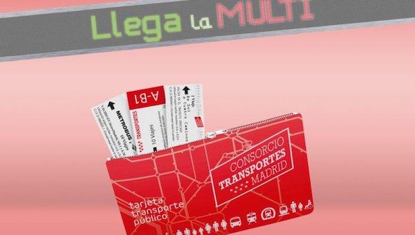 transpporte tarjeta española