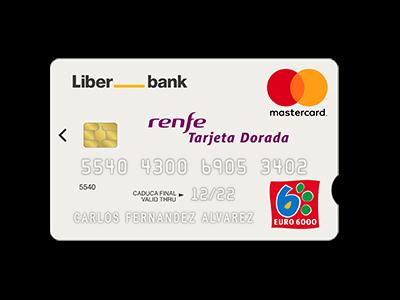 tarjetas doradas de renfe