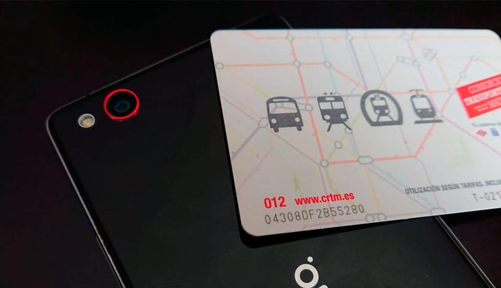 tarjeta transporte