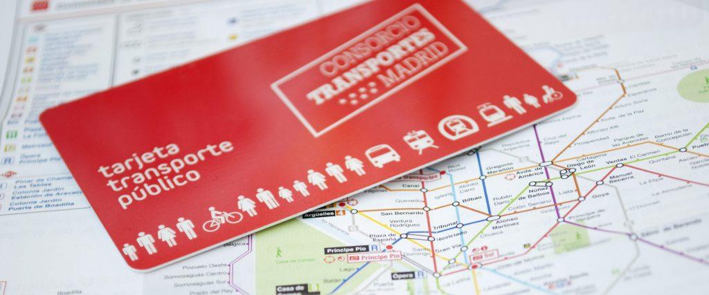 tarjeta transporte publico española