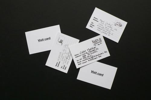 tarjeta de visita como hacerla