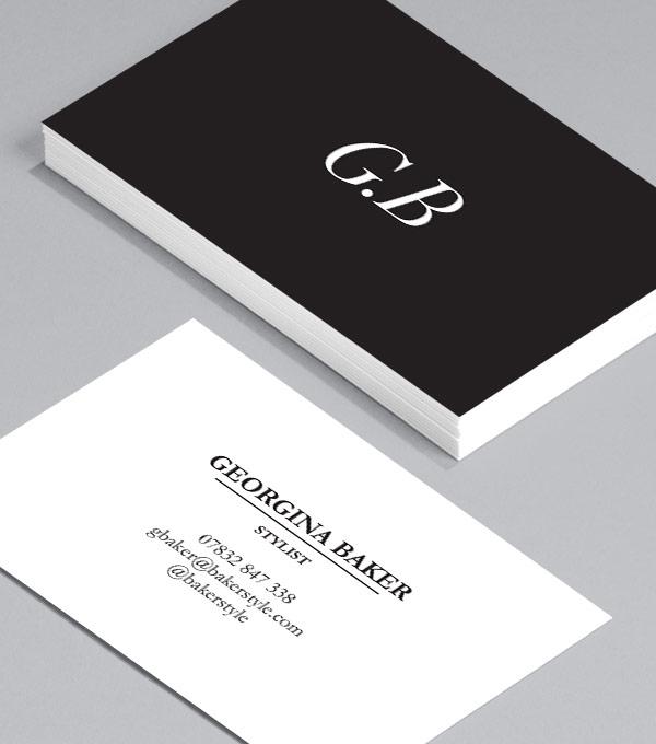 tarjeta de visita personal
