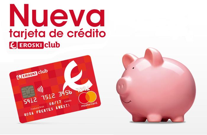 tarjeta de credito eroski