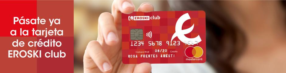 eroski club tarjeta