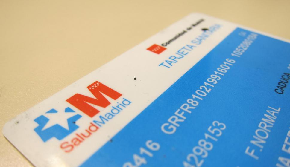 tarjeta sanitaria requisitos