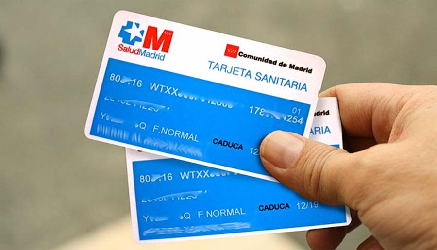 tarjeta sanitaria de españa solicitud