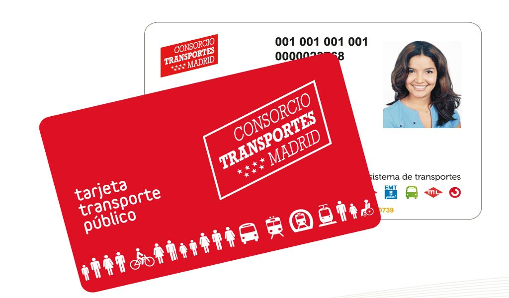 tarjeta abono transporte