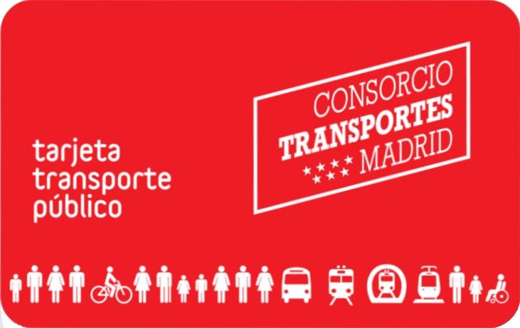 tarjeta abono transporte madrid