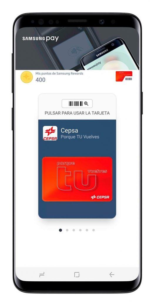 tarjeta cepsa pagos
