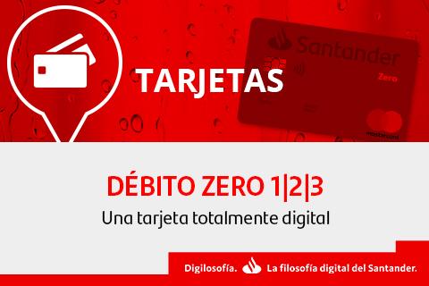 tarjeta de debito zero