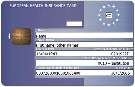 datos tarjeta sanitaria europea