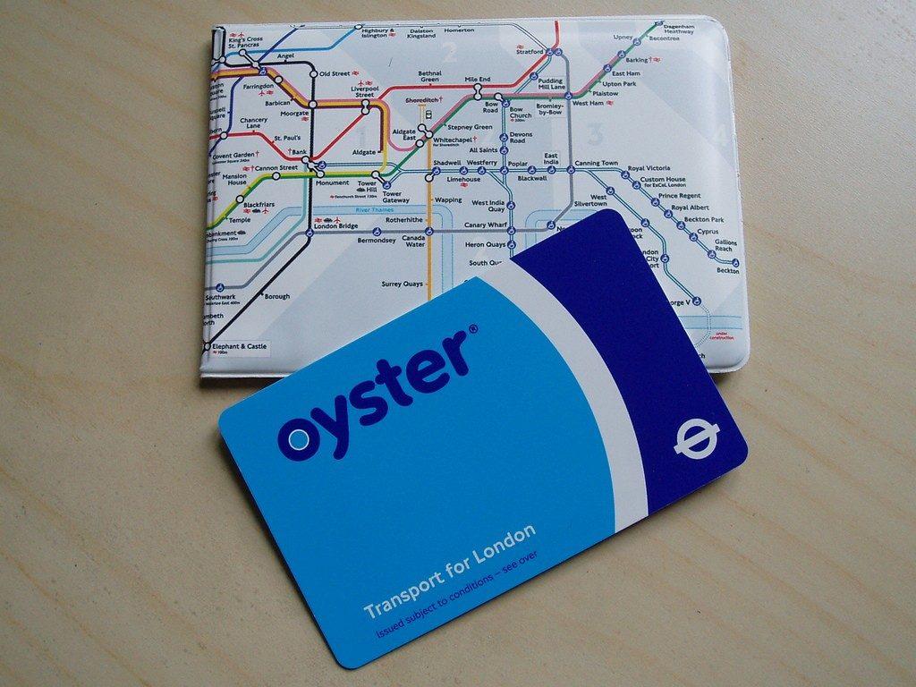 tarjeta oyster españa