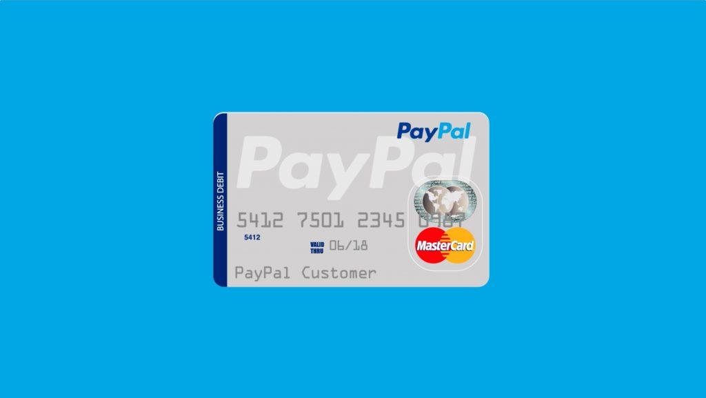 ejemplo tarjeta paypal
