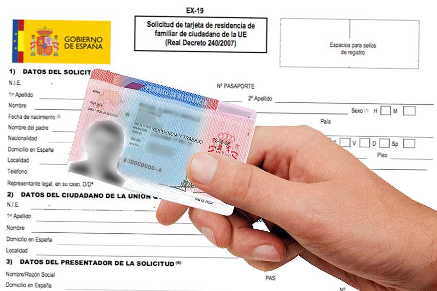 españa tarjeta de residencia solicitar