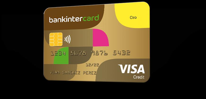 tarjeta de credito bankinter oro