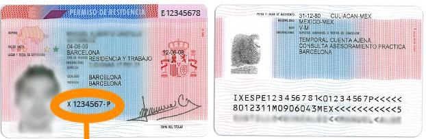 tarjeta de residencia documentos