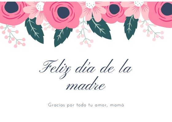 tarjeta dia de las madres