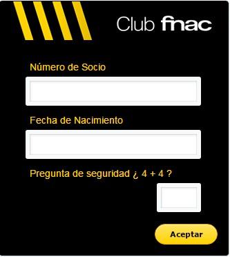 tarjeta club fnac