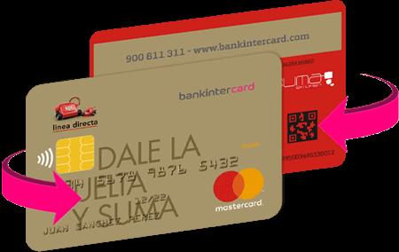 tarjeta linea directa
