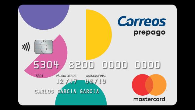 tarjeta mastercard correos