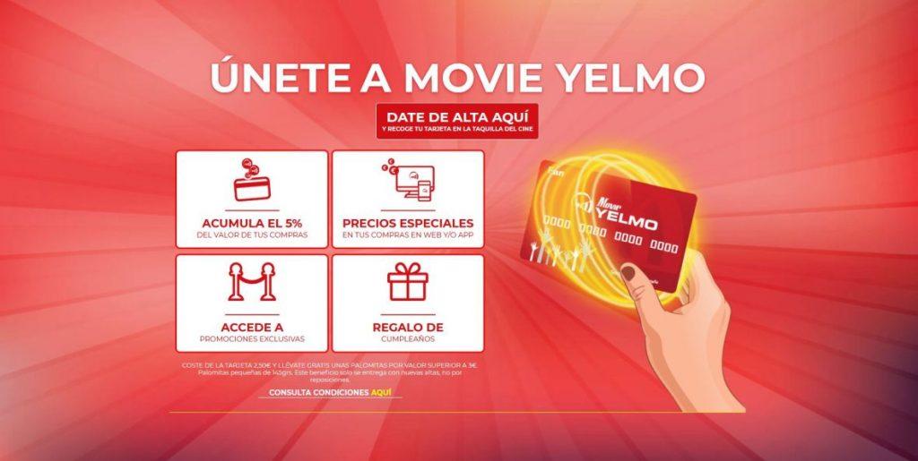 ventajas yelmo cines