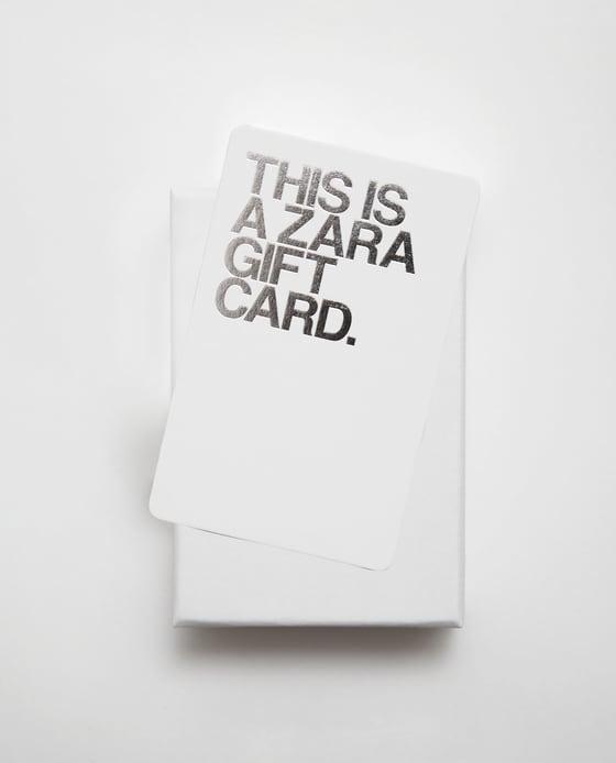 tarjeta zara españa
