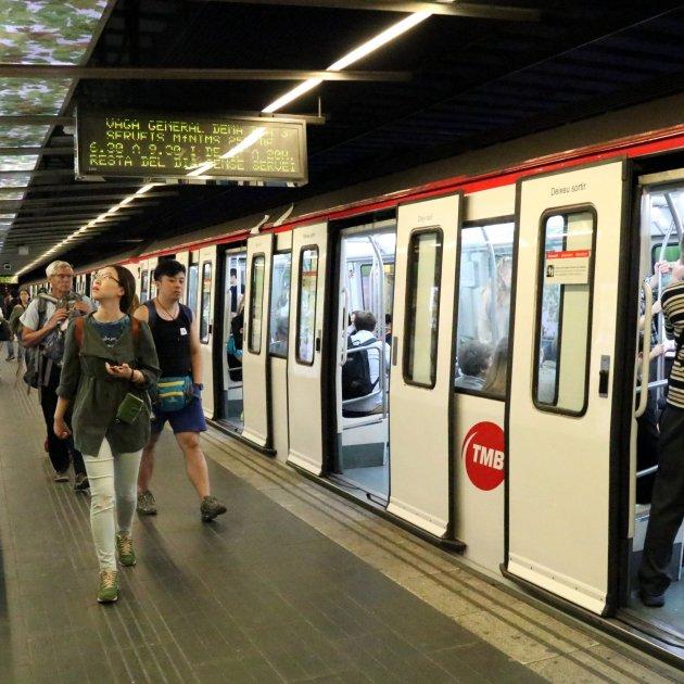 tarjeta metro barcelona españa