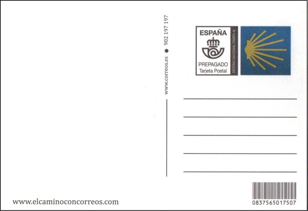 tarjeta postal