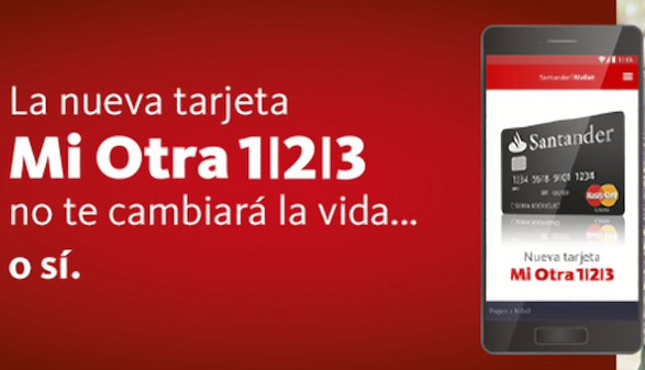 tarjeta mi otra 123