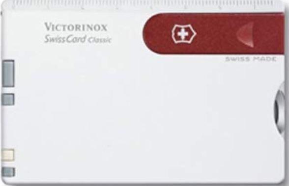 tarjeta victorinox navaja