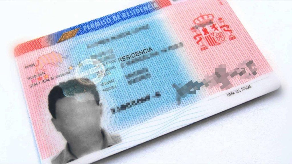 tarjeta residente españa permanente