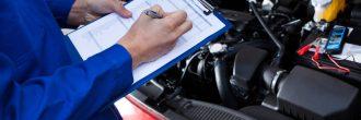 Tarjeta de inspección técnica