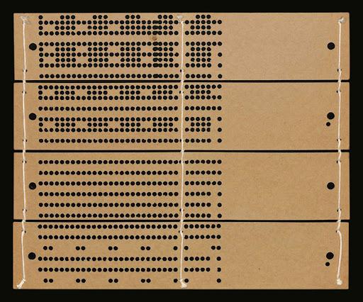 tarjeta perforada computadora