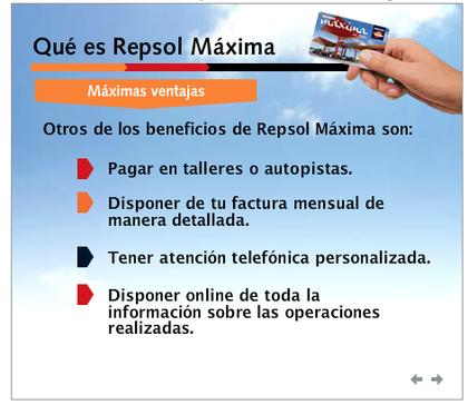 tarjeta repsol maxima
