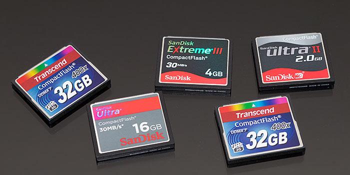 tarjeta cpmpact flash fotografos