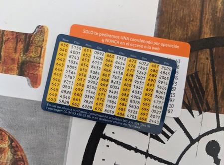 tarjeta de coordenadas