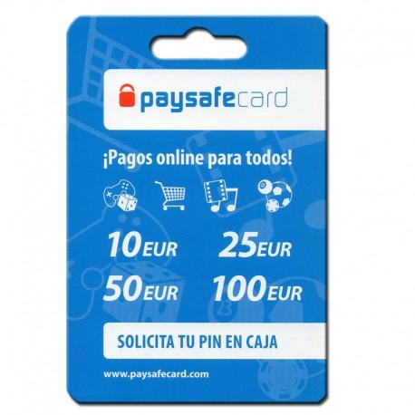 pagos tarjeta paysafecard